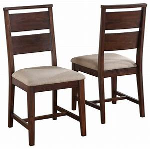 Portland Wood Dining Chairs, Set of 2 - Transitional
