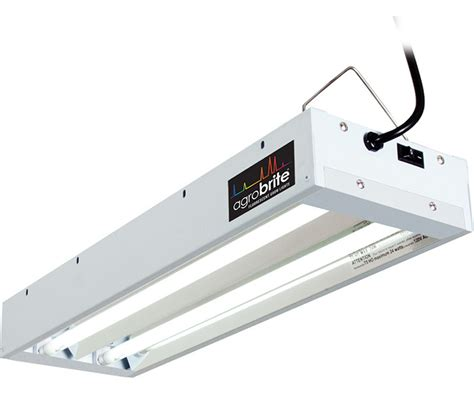 agrobrite fluorescent grow light t5 2ft 2 fixture