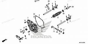Honda Motorcycle 2018 Oem Parts Diagram For Shift Drum