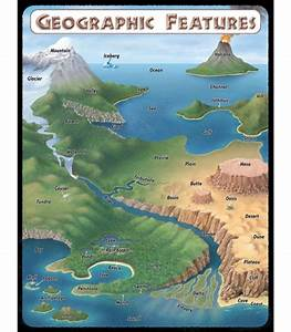 Geographic Features Chart