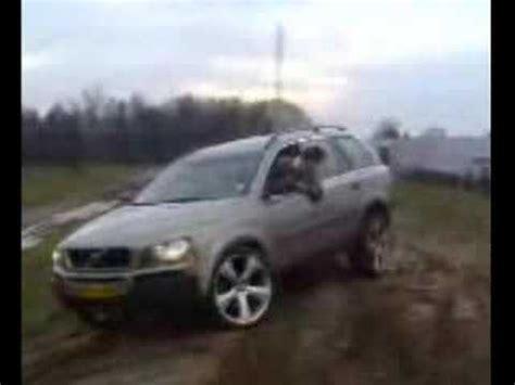 volvo xc wheel lift downhill youtube