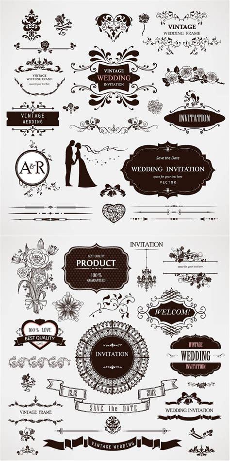 wedding vector wedding decor vector free vectorpicfree