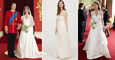 Kates Wedding Dress : H&m Is Selling A Replica Of Kate Middleton's Wedding Dress