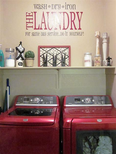 adorable antics laundry room decorations   budget