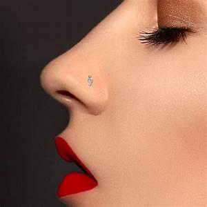 Prix D Un Piercing Au Nez : piercing nez cl de sol or blanc 18 carats ~ Medecine-chirurgie-esthetiques.com Avis de Voitures