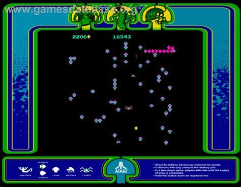 Centipede Arcade Games Database