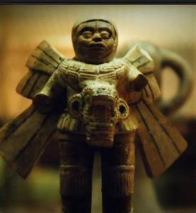 Mayan Astronaut Statue - Pics about space