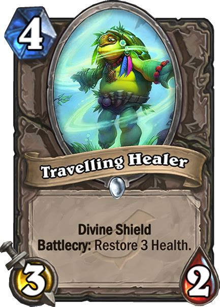 healer travelling rise card neutral minion mana shadows cost common
