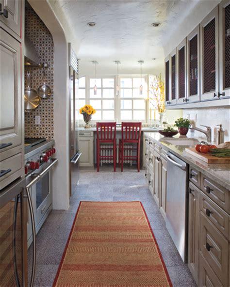inspiration  galley kitchen reno