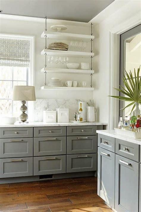 shelves instead of kitchen cabinets m 225 s de 25 ideas incre 237 bles sobre cocinas grises en 7928
