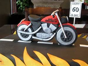 16 best images about birthday cake ideas on pinterest With motorbike template for cake
