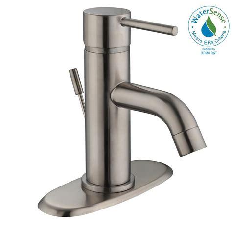 Glacier Bay Faucet Installation by Glacier Bay Modern 4 In Centerset Single Handle Low Arc