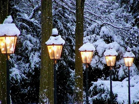 christmas lights that look like snow falling snowfall living desktop snow falling beautiful winter right on your
