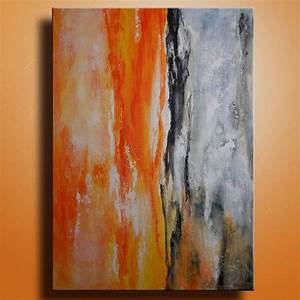 Original abstract painting on canvas contemporary modern