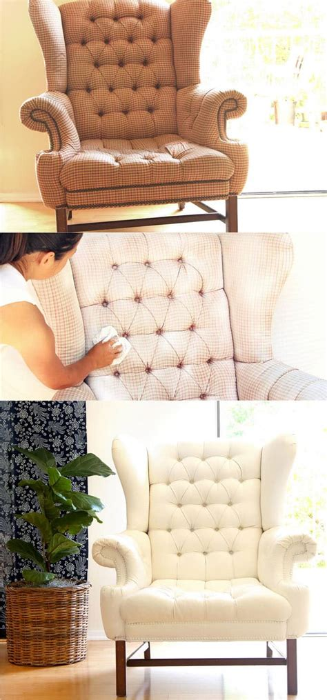 Painted Upholstery Fabric by How To Paint Upholstery Fabric Chair Gets Beautiful