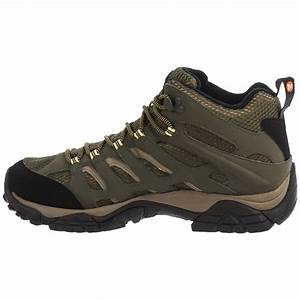 Merrell Moab Mid Hiking Boots (For Men) - Save 54%