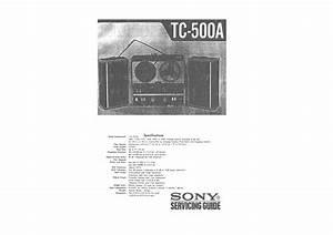 Sony Tc-500a