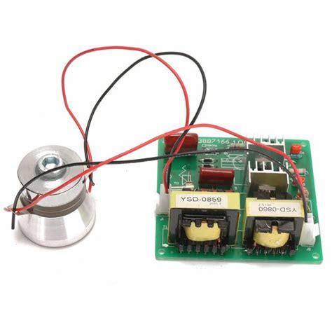 ac110v 100w 40k ultrasonic cleaner power driver board with 60w 40k transducer alexnld