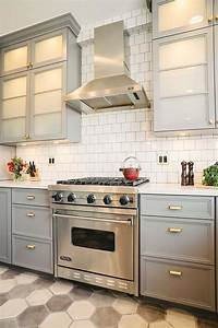 gray kitchen cabinets benjamin moore With best brand of paint for kitchen cabinets with hexagon stickers