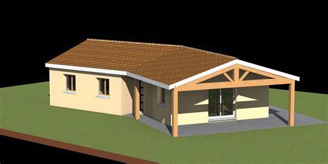 plan maison 4 chambres plain pied gratuit plan maison gratuit