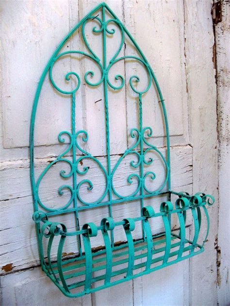 shabby chic turquoise shabby chic aqua turquoise wrought iron from anitasperodesign on