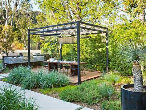 cuisine exterieur jardin espace repas tendances