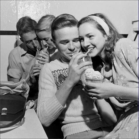 1950's Teenagers at the soda shop