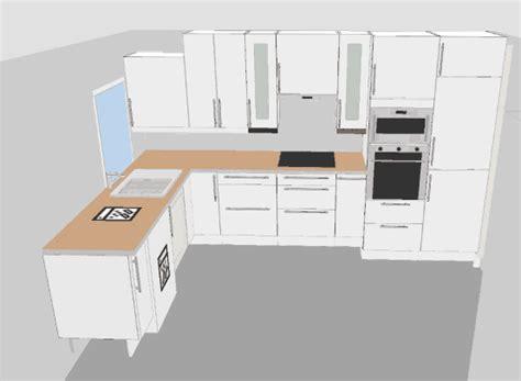 plan en 3d cuisine cuisine combler un espace de 2 cm entre un plan