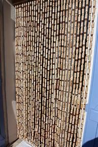 Rideau De Porte Anti Mouche Leroy Merlin : rideaux en bouchons les bois de la garrigue ~ Melissatoandfro.com Idées de Décoration