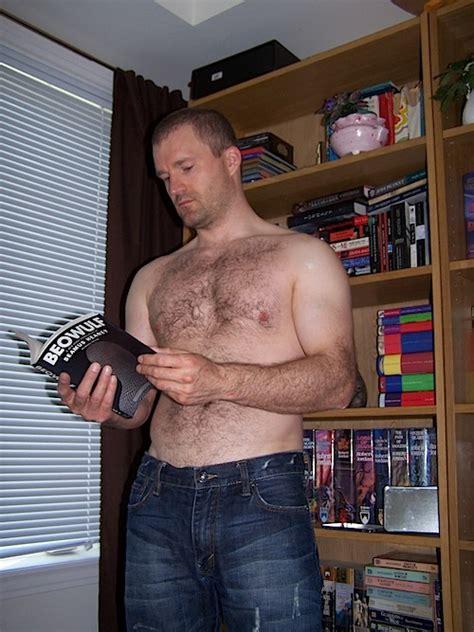 Hot Shirtless Guys Reading Books