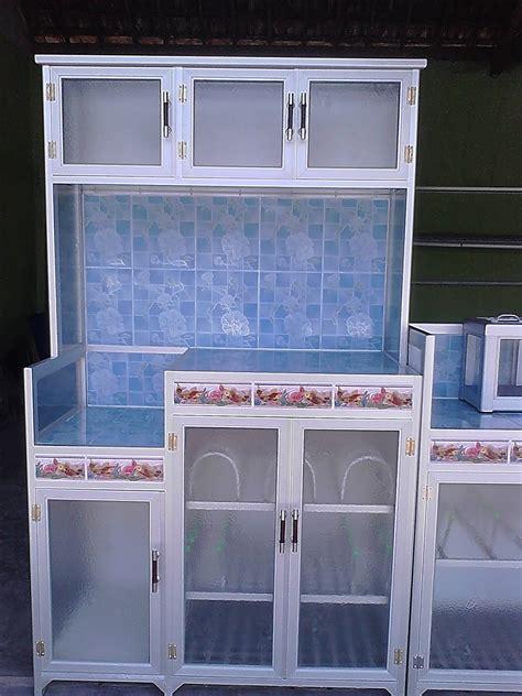 harga kitchen set aluminium murah  jual