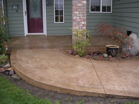 stained sted concrete patio minimalist simple stained concrete patio how to clean stained