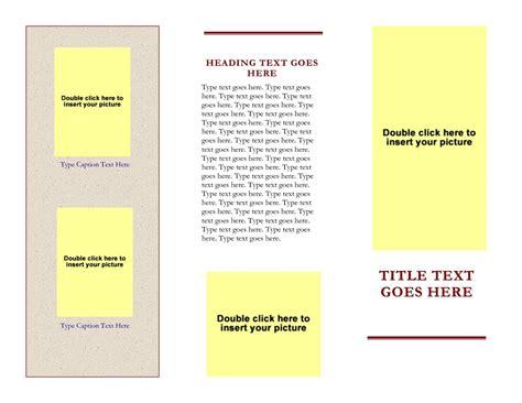 Tri Fold Template Word 2007 by 47 Free Microsoft Word Brochure Templates Tri Fold Free