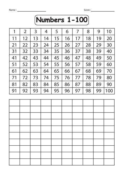 printable number tracing worksheets  printable