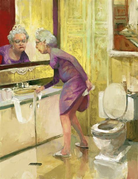 la toilette de la reine