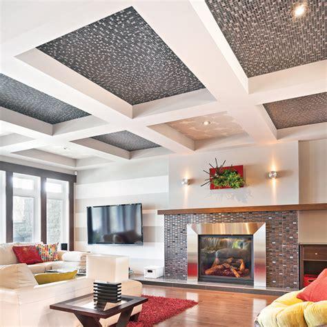 aide au logement plafond caissons architecturaux au plafond salon inspirations d 233 coration et r 233 novation pratico