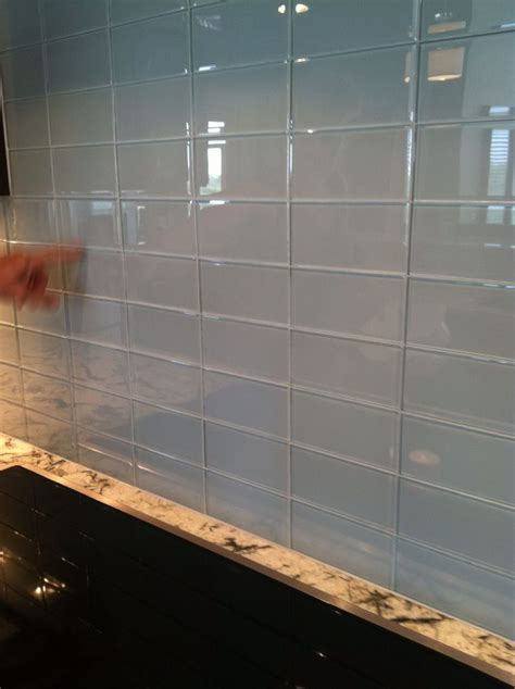 glass subway tile kitchen backsplash 32 best kitchen ideas images on backsplash