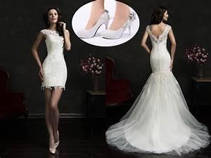 amelia sposa lace mermaid wedding dresses 2017 short knee With amelia sposa wedding dress cost