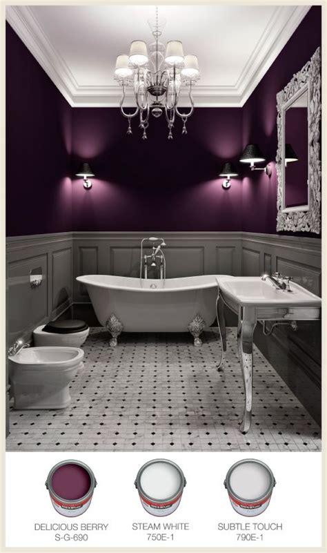 Purple Color Bathroom by This Dreamy Bathroom Has Unique Lighting To Cast