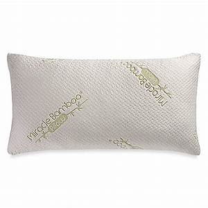 buy miracle deluxe king pillow from bed bath beyond With bed bath and beyond miracle bamboo pillow
