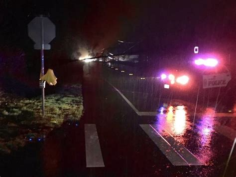 storm triggers power outage downs trees shoreline wa patch