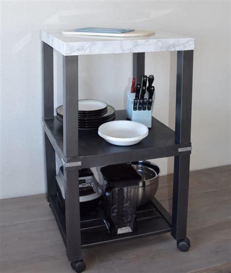 small kitchen side table need a small kitchen island ikea hackers ikea hackers
