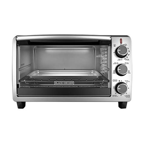 black decker stainless steel convection 6 slice toaster oven black decker to1950sbd 6 slice convection countertop