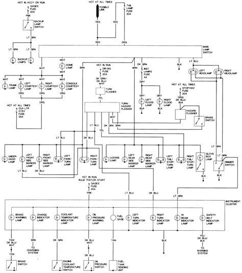 Cutlass Wiring Diagram Color Library