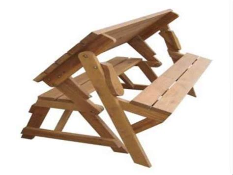 merry garden interchangeable picnic table garden bench