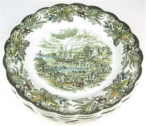 ridgway heritage dinner pottery pattern plates dishes toronto piece guide history sets plate