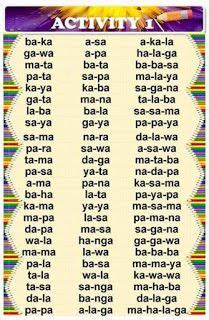 teacher fun files remedial reading  filipino remedial