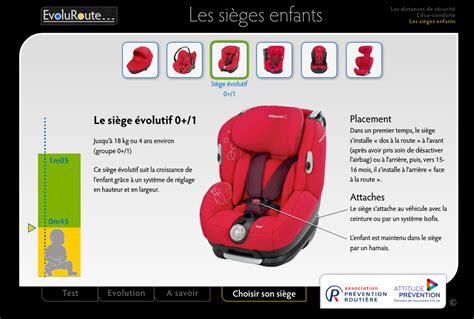 choisir siege auto choisir siège enfant apr