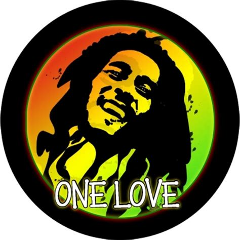 vintage jeep logo bob marley one love spare tire cover