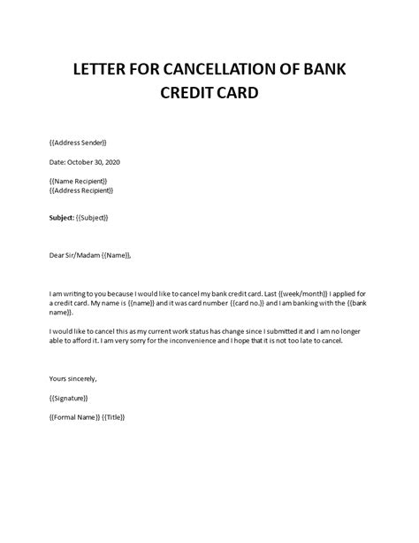 Deciding whether to cancel a credit card isn't a quick and easy decision — or at least it shouldn't be. credit card cancellation letter